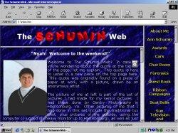 Main page, circa late 1998