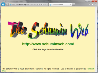 2000 design, Splash Page