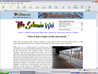 2002 design, Main Page
