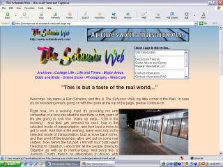 2003 design, Main Page