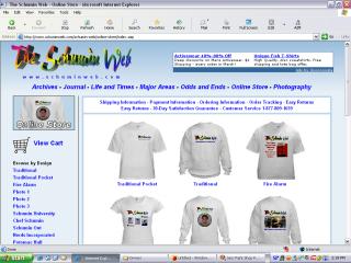 2004 design, Online Store