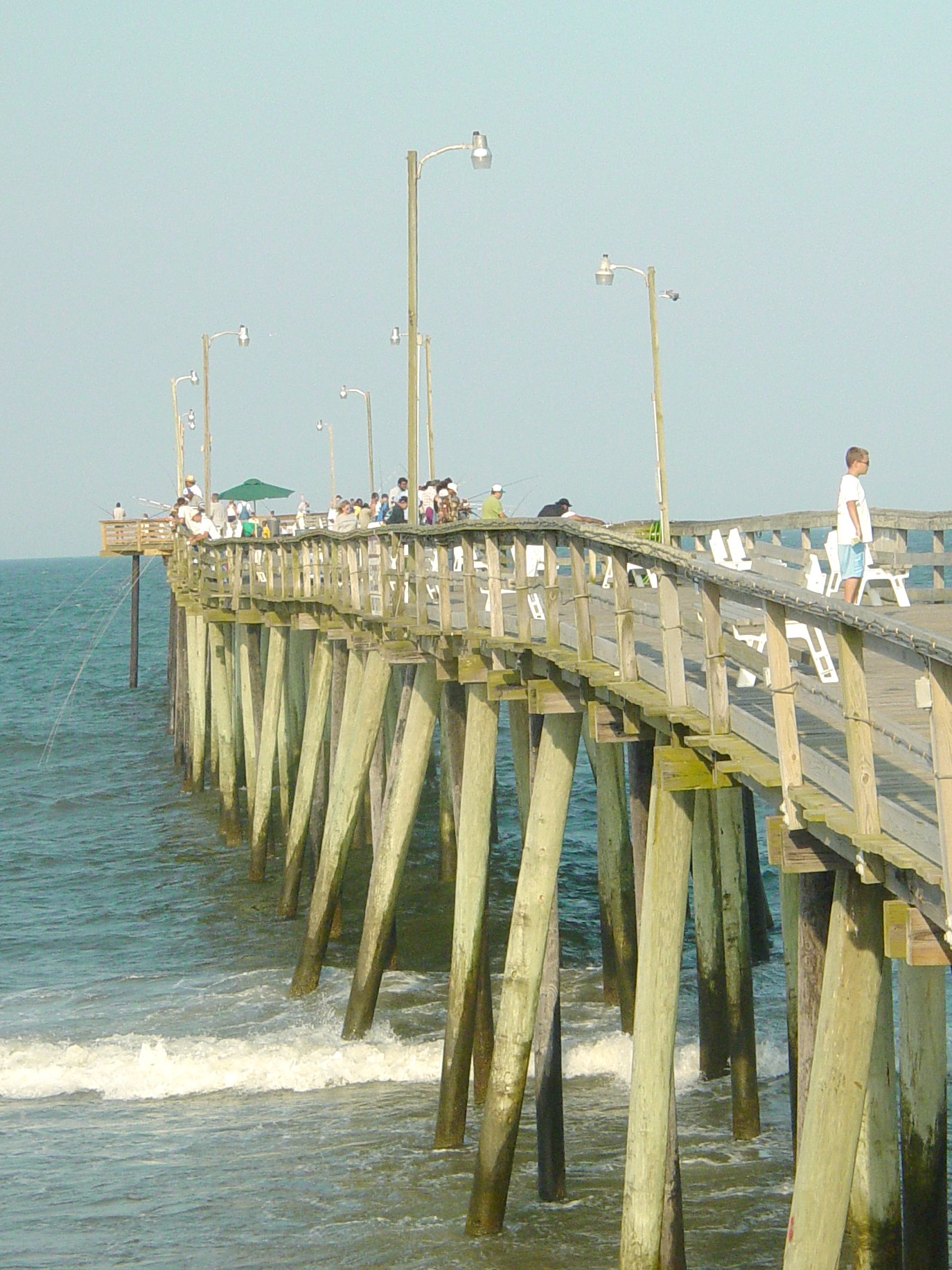 The schumin web virginia beach fishing pier for Fish store virginia beach