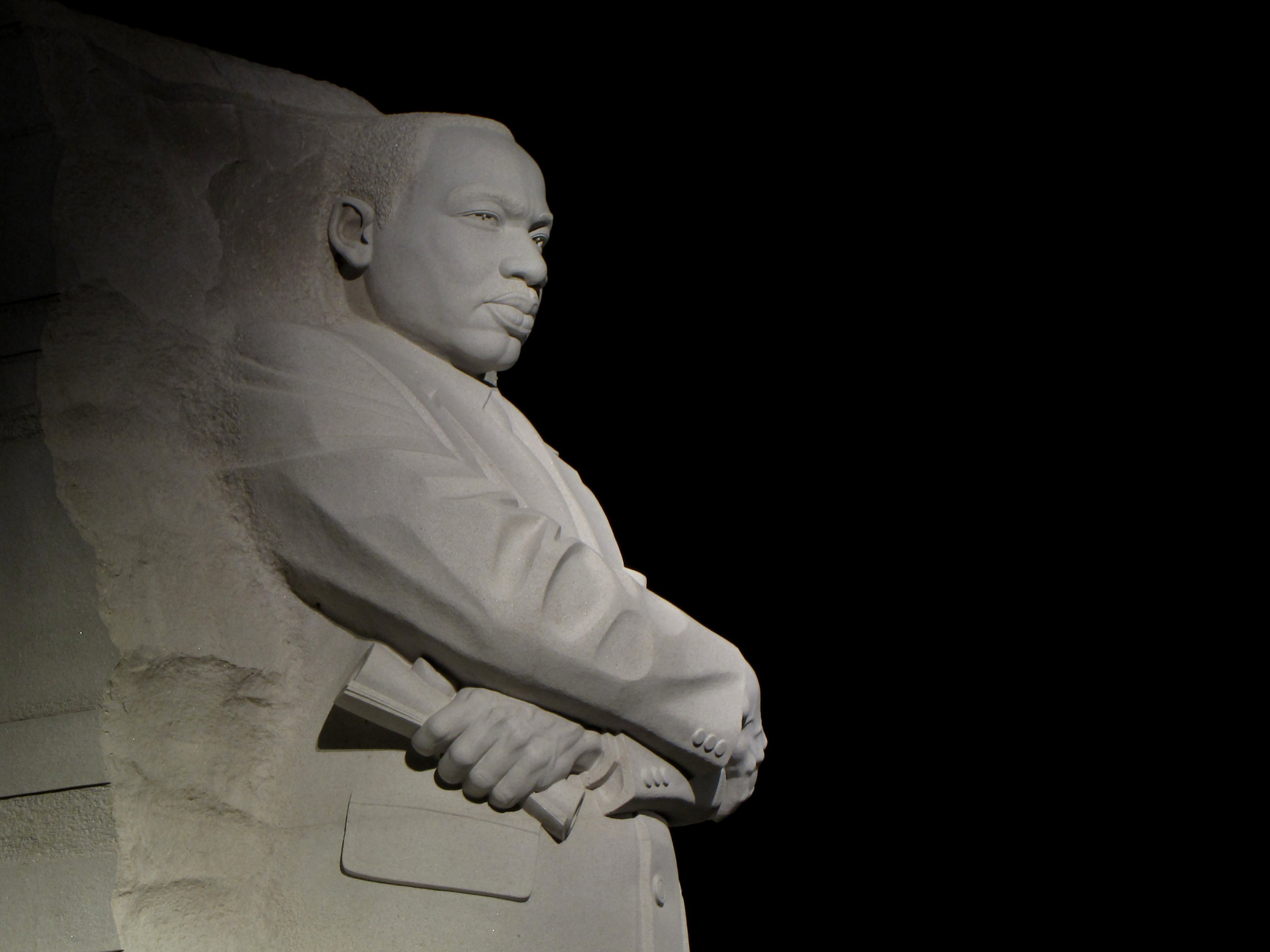 The Schumin Web Martin Luther King Jr Memorial At Night