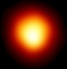 The disk of Betelgeuse