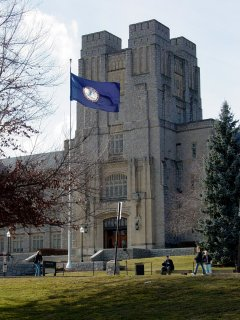Burruss Hall at Virginia Tech