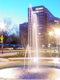 Fountain at Pentagon Row
