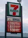 7-Eleven selling Citgo gasoline in Staunton, Virginia