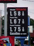 Texaco station in Staunton, Virginia