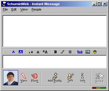 AIM, circa April 2000