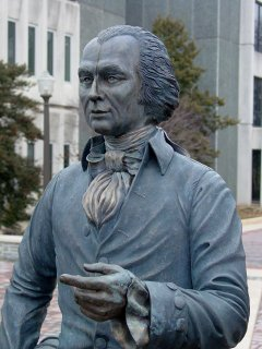 Statue of James Madison