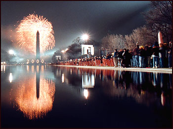Year 2000 celebrations in Washington DC