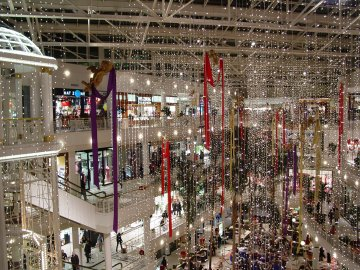 Pentagon City Mall, December 8, 2004