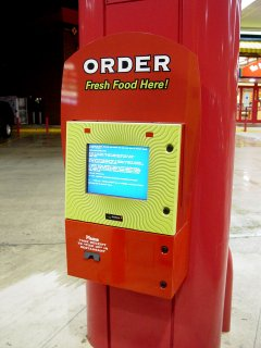 """Blue Screen of Death"" at Sheetz in Fishersville, Virginia"