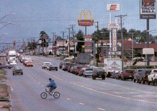US 71 through Springdale, Arkansas