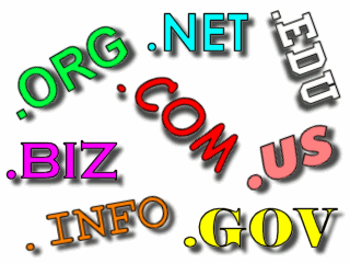 Various top-level domains