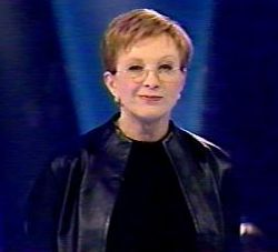 "Anne Robinson, host of ""The Weakest Link"""
