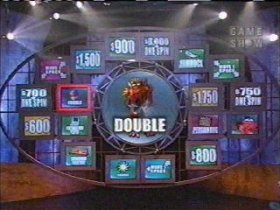 "A contestant hits a ""Double Whammy"""