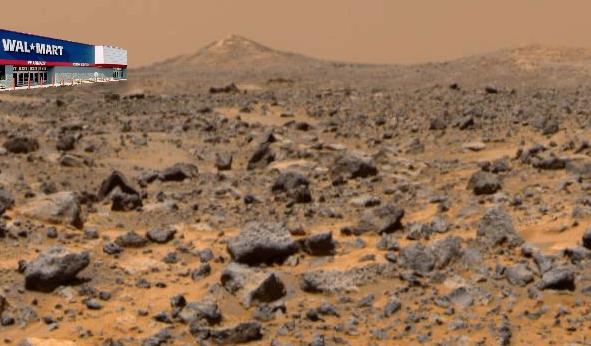Wal-Mart on Mars