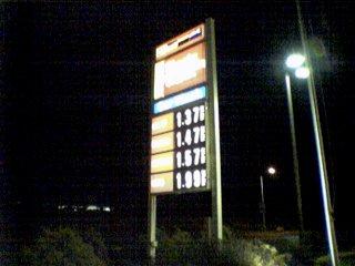 Prices at Sheetz in Harrisonburg