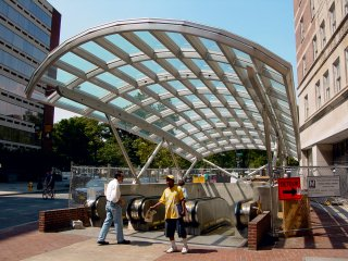 Dupont Circle station canopy