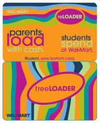 """""""Freeloader"""" gift card"""