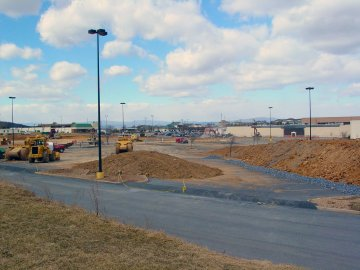 Site of former Harrisonburg Wal-Mart location