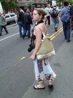 Girl from September 24 protest