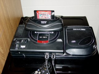 Sega Genesis with peripherals