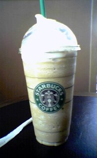 Venti Coffee Frappuccino at Starbucks in Waynesboro