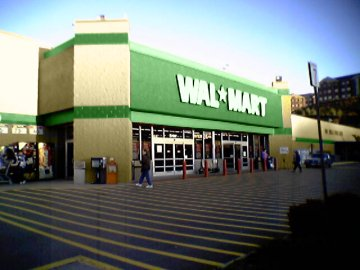 Wal-Mart on US 220 in Roanoke, altered to have green color scheme