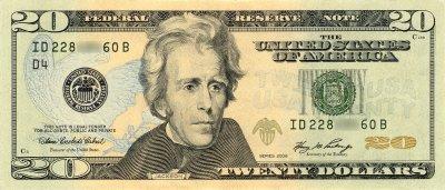 $20 bill, Series 2006