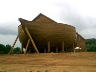 The ark from Evan Almighty