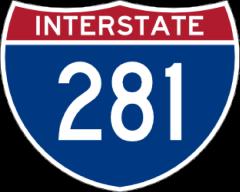 Interstate 281 shield