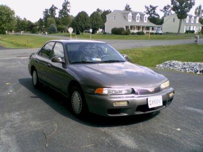 Sis's Mitsubishi Galant