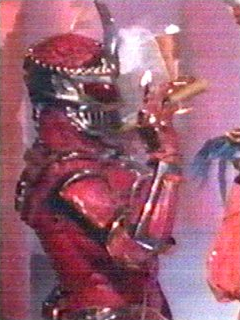 Lord Zedd enjoys a snack of taquitos and dry ice