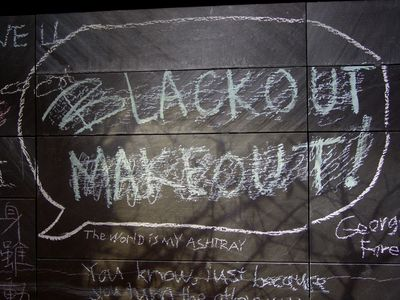 """Blackout makeout""? Okaaaaaaaay..."