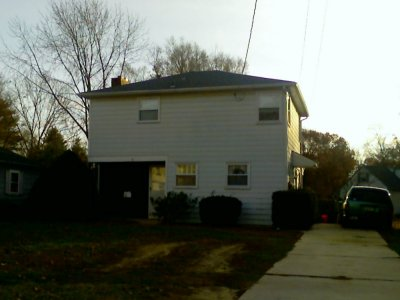 Our house in Glassboro in 2007