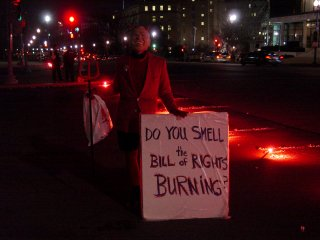 """""""Do you smell the Bill of Rights burning?"""""""