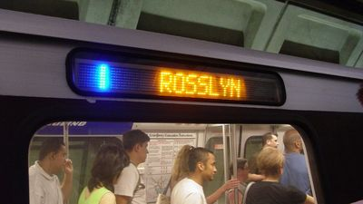 Blue Line to Rosslyn