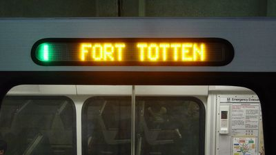 Green Line to Fort Totten