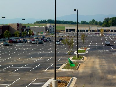 Waynesboro Town Center, still under construction in 2007