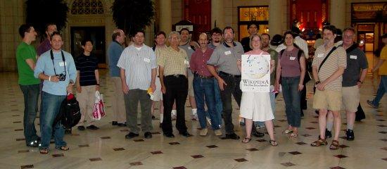 Wikipedia meetup group