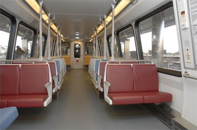 Test flooring on Alstom 6104-6105