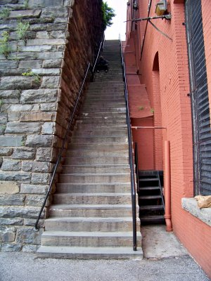 "The ""Exorcist Steps"" in Georgetown"