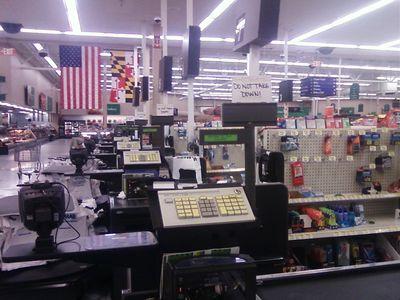 Tacky Wal-Mart signage