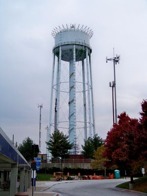 The Glenmont water tower