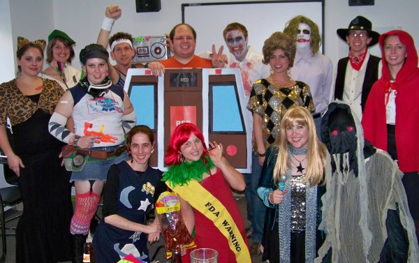 Everyone from halloween 2008!