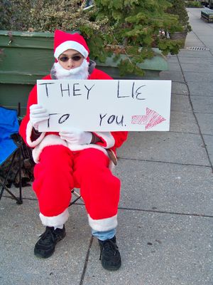 Santa Claus...