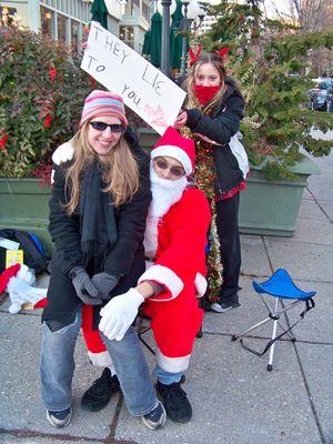 Santa's helpers...