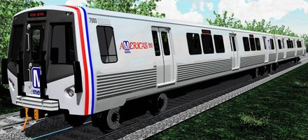 Metro 7000-Series car concept drawing